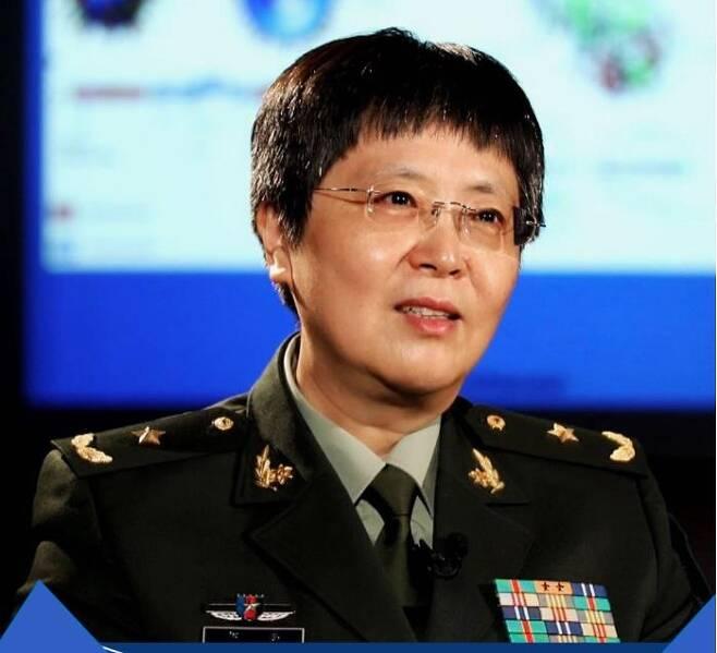 천웨이(陳薇) 중국 군사의학연구원 소장 [신화통신 캡처. 재판매 및 DB 금지]