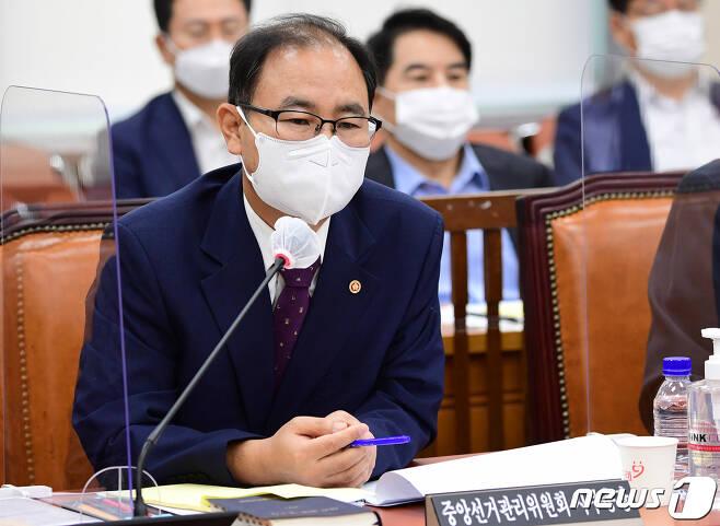 박영수 중앙선거관리위원회 사무총장. 2020.9.1/뉴스1 © News1 성동훈 기자