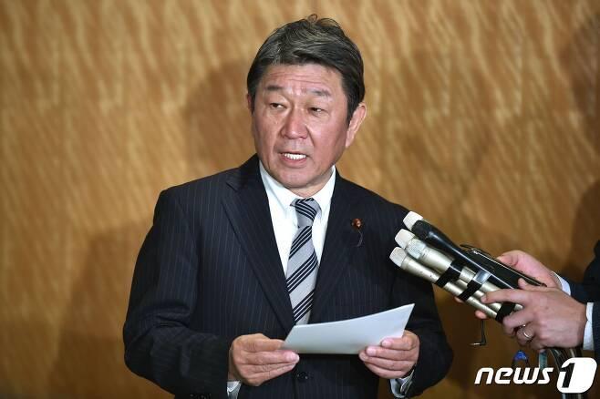 모테기 도시미쓰 일본 외무상 <자료사진> © AFP=뉴스1
