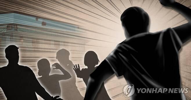 공공장소 묻지마 범죄 빈발 (PG) [장현경, 이태호 제작] 사진합성·일러스트
