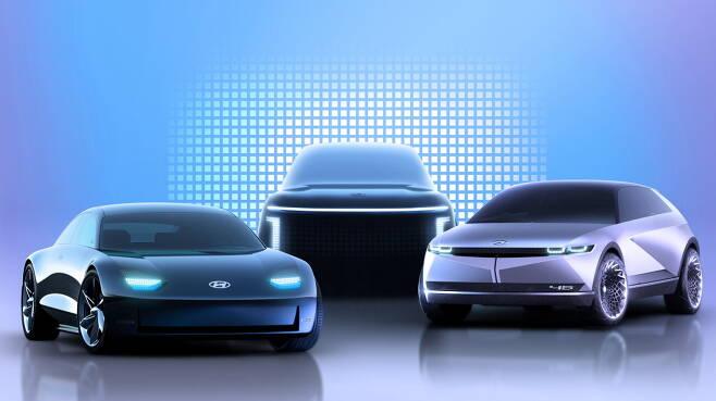 현대차 아이오닉 EV 라인업
