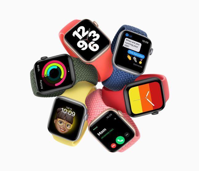애플 스마트워치 '애플워치SE'.ⓒ애플