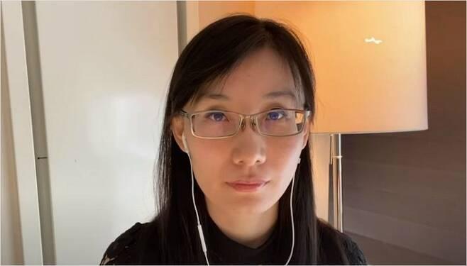 홍콩출신 옌리멍 박사(사진=유튜브 캡처)
