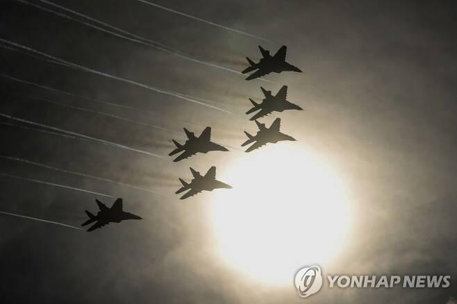러시아 전투기 MiG-29 [타스=연합뉴스 자료사진]