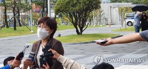 기자회견하는 공혜정 대표 [촬영 이은중 기자]
