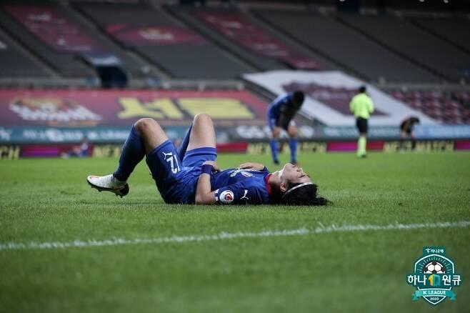 최악의 부진을 겪고 있는 수원삼성. 다음 상대는 이 악물고 경기에 나설 강원FC다. (한국프로축구연맹 제공) © 뉴스1