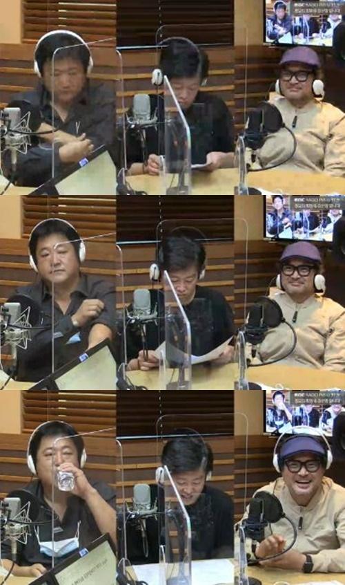 '정오의 희망곡' 김상호가 김신영과 닮은 꼴이라는 소리에 놀랐다. 사진=MBC FM4U '정오의 희망곡 김신영입니다' 캡처