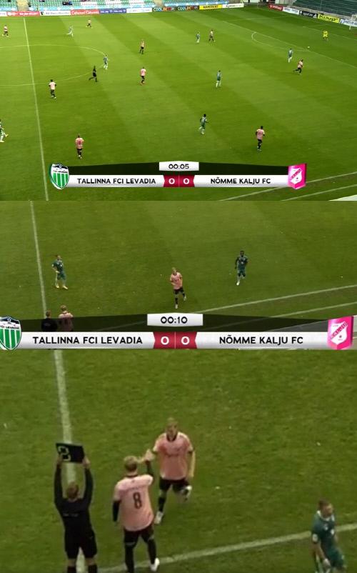 캡처 | 에스토니아 프로축구 영상