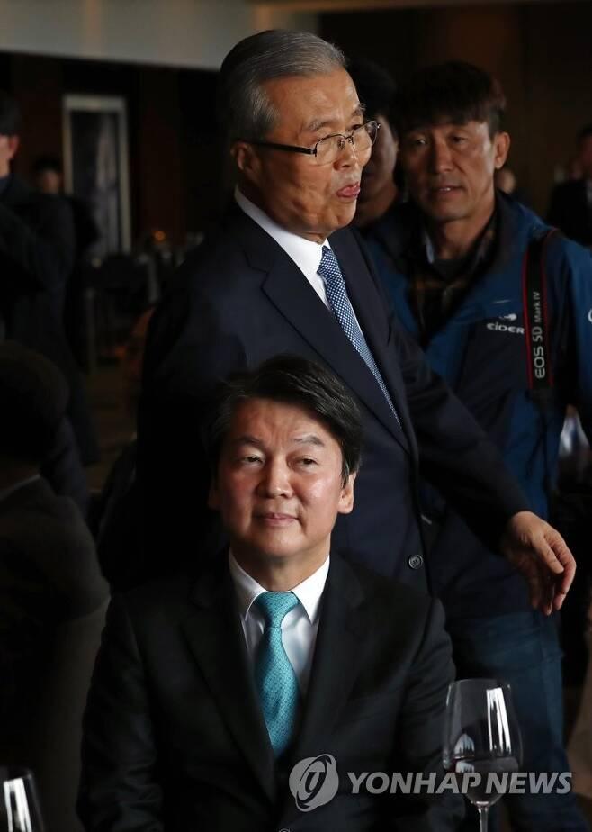 김종인-안철수, 상대방에 '쯧쯧'…밀당인가 결별인가 [연합뉴스 자료사진]