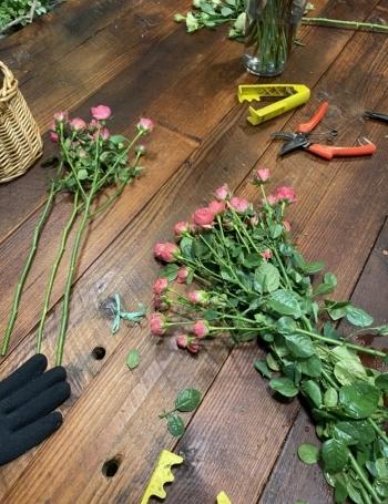 꽃은 아름답게 다 손질돼 있는줄 알았더니, 웬걸. 하나하나 손이 다 가야 하는 거였다./사진=남형도 기자