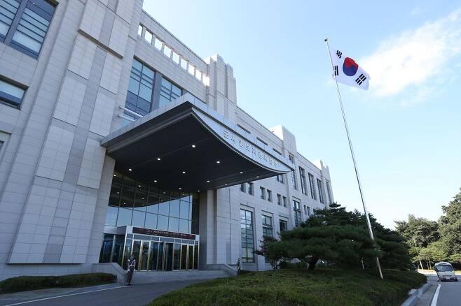 경기도 과천 군사안보지원사령부의 전경. /사진공동취재단