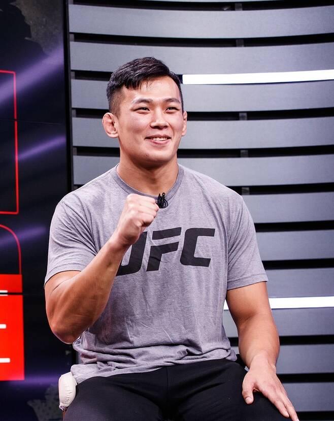 한국인 최초의 UFC 라이트헤비급 파이터 정다운 [커넥티비티 제공]