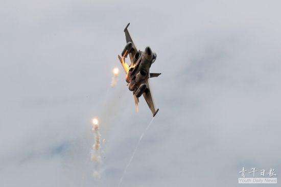 대만이 자체 개발한 IDF 징궈하오 전투기는 F-16 다음으로 대만 공군에서 많은 수를 차지하고 있다. 사진=대만 국방부