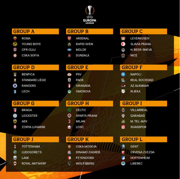 사진=유로파리그 공식 홈페이지