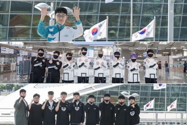 3일부터 한국 리그(LCK) 대표로 선발된 팀들이 '2020 LoL 월드 챔피언십(롤드컵)' 경기에 출전한다. 라이엇 게임즈 제공