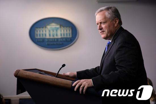 마크 메도우스 백악관 비서실장. © 로이터=뉴스1