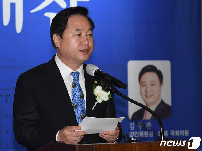 김두관 더불어민주당 의원 © News1 신웅수 기자