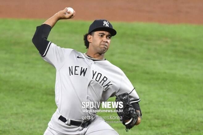 ▲ 뉴욕 양키스 우완투수 데이비 가르시아.
