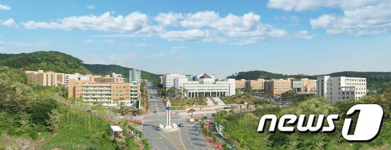 단국대학교 전경. © News1