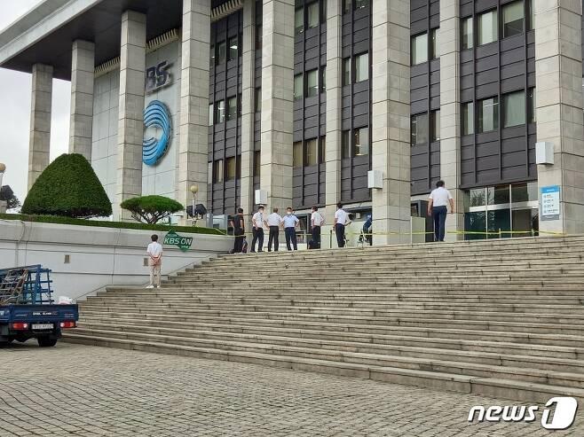 서울 영등포구 여의도 KBS본관 1층 라디오 오픈 스튜디오 © 뉴스1 이밝음 기자
