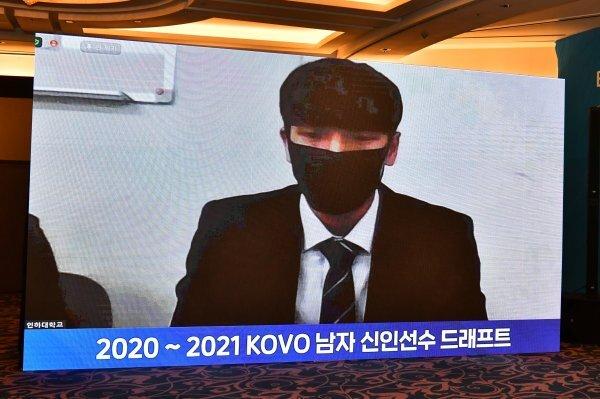 2020-2021 KOVO 남자 신인선수 드래프트 4순위 박경민. 사진제공 | KOVO