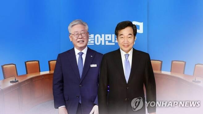 이재명 이낙연 대선주자(CG) [연합뉴스TV 제공]