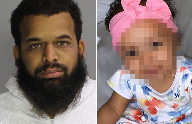 미국에서 생후 10개월 된 친딸을 성폭행하고 사망에 이르게 한 인면수심 아버지가 붙잡혔다.