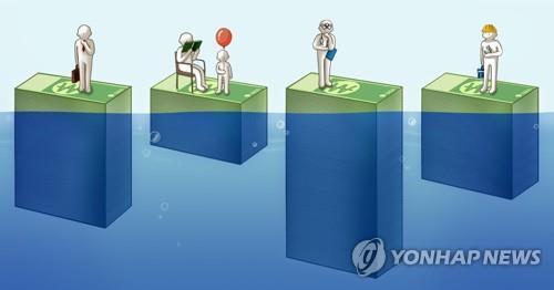 기본소득 (PG) [김민아 제작] 일러스트
