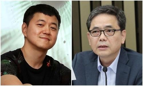 문재인 대통령의 아들 문준용씨(왼쪽), 곽상도 국민의힘 의원. 페이스북, 연합뉴스