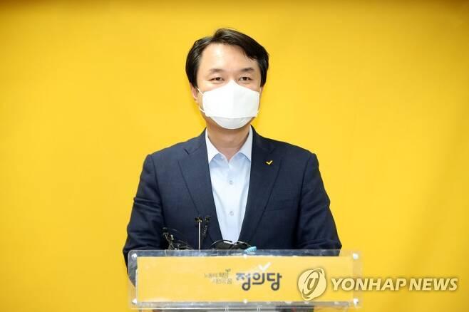 김종철 정의당 신임 대표 [연합뉴스 자료사진]