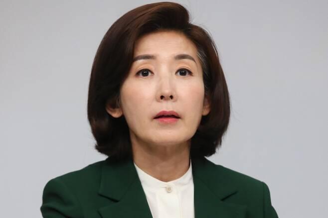 나경원 전 의원. 연합뉴스