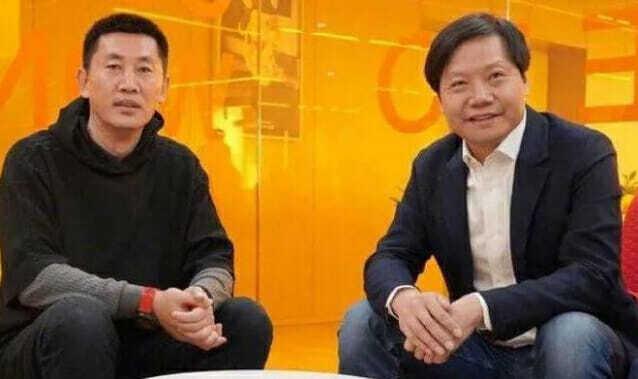 창청 부총재(왼쪽)와 샤오미의 레이쥔 CEO (사진=샤오미)