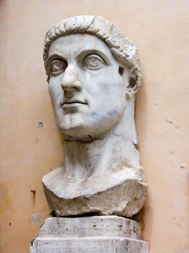 콘스탄티누스 거상, 313년, 카피톨리노박물관