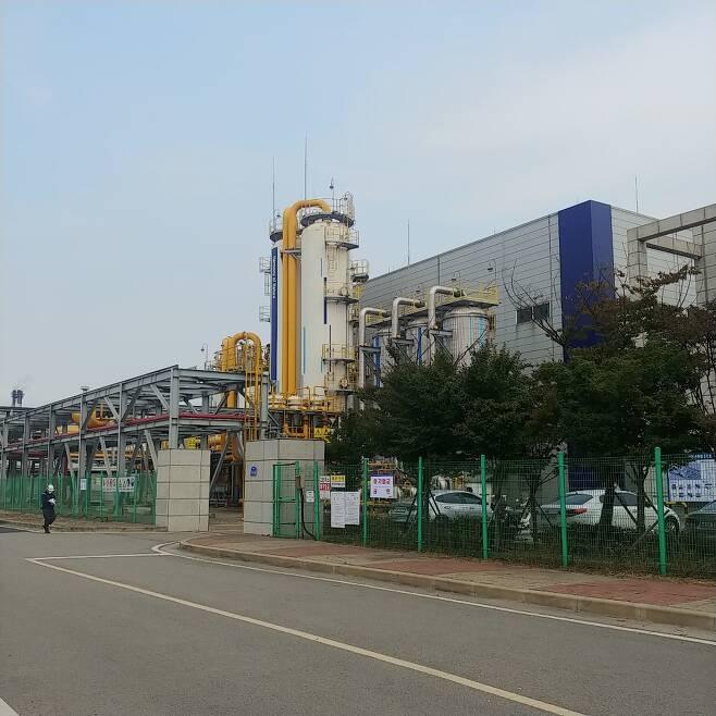 부생수소 출하센터 인근 현대제철 수소생산공장/사진=안재용 기자
