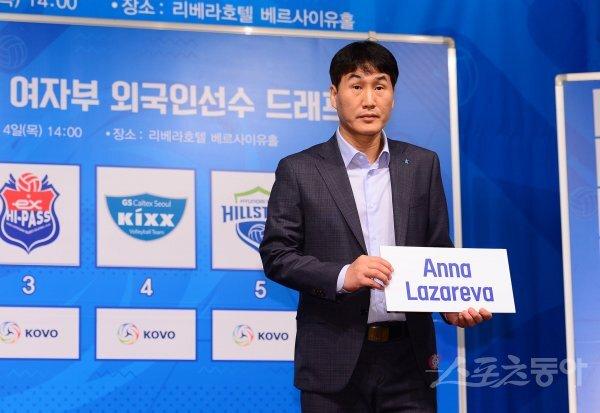 IBK기업은행 김우재 감독. 스포츠동아DB