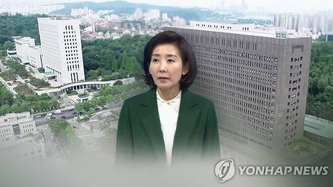나경원 의혹 수사(CG) [연합뉴스TV 제공]