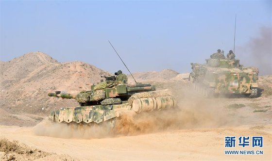 대만과 마주한 중국 푸젠성 샤먼에 주둔하고 있는 중국 인민해방군 제73집단군이 최근 대만 공격을 상정한 상륙작전 훈련을 벌여 주목을 끌고 있다. [중국 신화망 캡처]