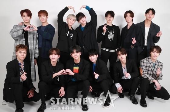 그룹 세븐틴(Seventeen) /사진=이동훈 기자