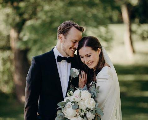 산나 마린 핀란드 총리 결혼. 사진=인스타그램