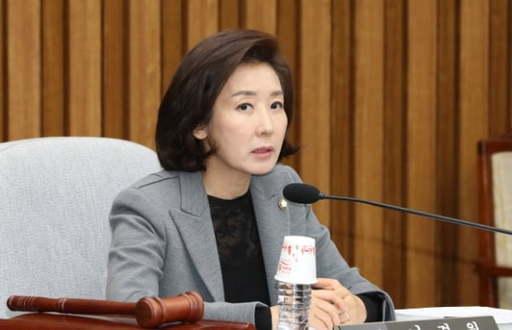 나경원 전 자유한국당(국민의힘의 전신) 의원. 연합뉴스