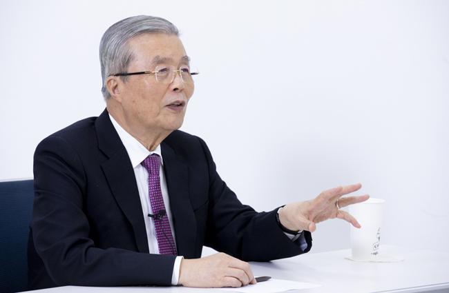 김종인 국민의힘 비상대책위원장.