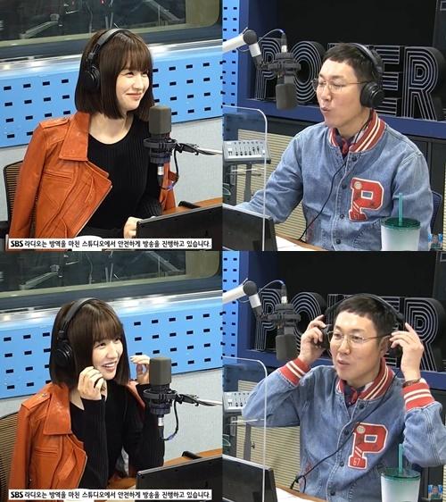 '철파엠' 박하선이 배우가 된 계기를 전했다.  사진='철파엠' 캡쳐