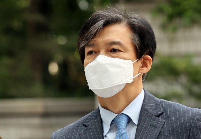 법원 출석하는 조국 전 법무부 장관 /연합뉴스