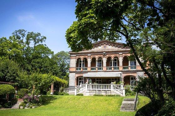 주한영국대사관 전경. 19세기 말 지어진 건물이다. 장진영 기자