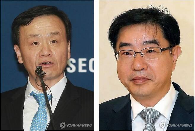 (왼쪽부터)임정혁 변호사와 이헌 변호사(사진=연합뉴스)