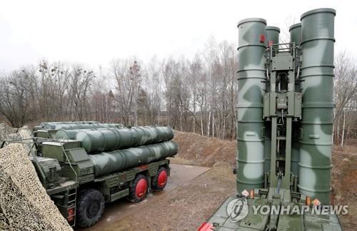 러시아제 S-400 지대공 미사일 [로이터=연합뉴스 자료사진]