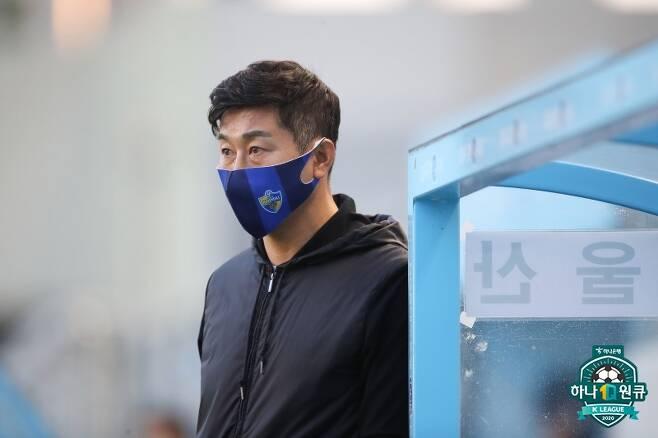 ▲ 김도훈 감독 ⓒ한국프로축구연맹