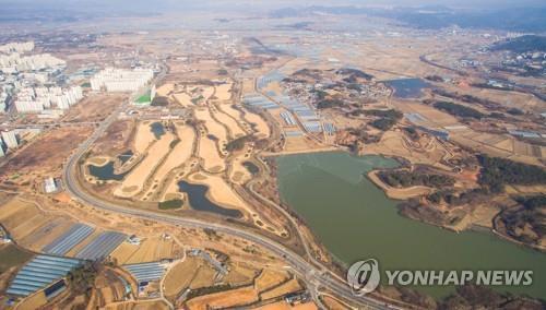 한전공대가 들어설 나주 부영골프장 전경 [연합뉴스 자료]