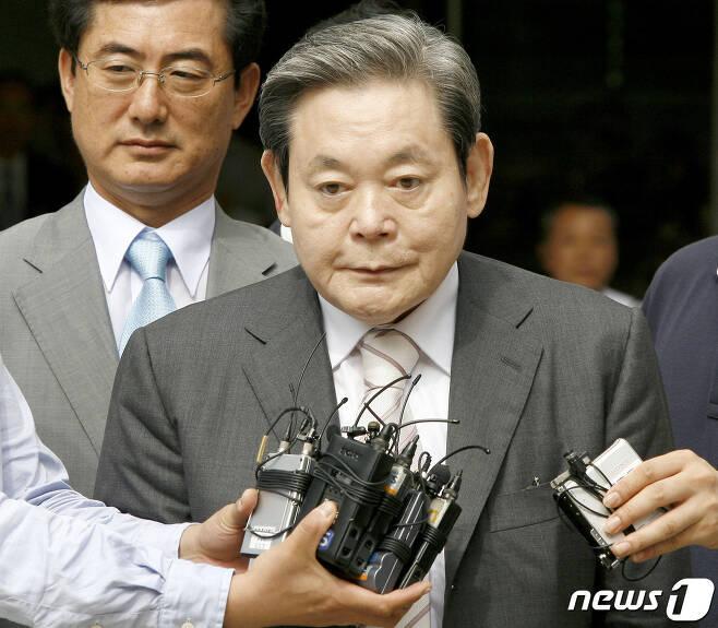 이건희 삼성전자 회장. © AFP=뉴스1