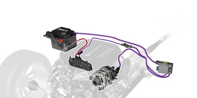 BMW 48v 마일드 하이브리드 시스템. /사진제공=BMW